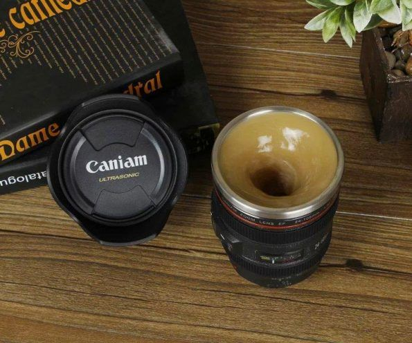 Swirling Camera Cups