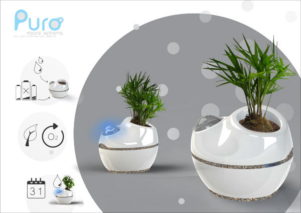 Autonomous Planters Self Watering Planter