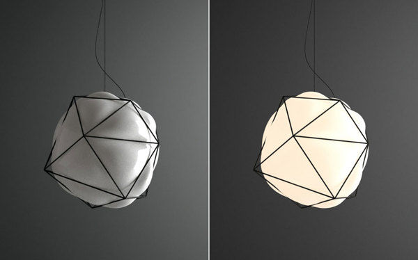 Geometric Bubbling Lighting