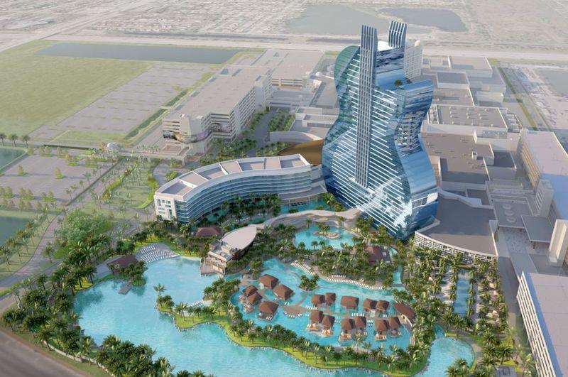 Towering Guitar-Shaped Hotels