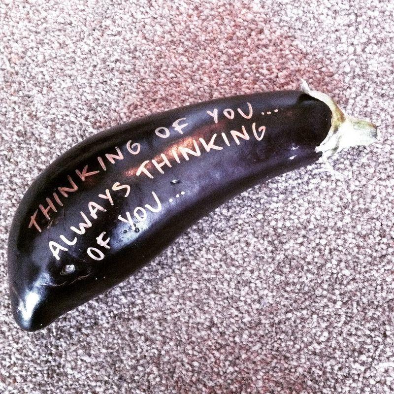 Humorous Eggplant Deliveries