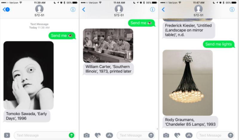 On-Demand Art Texting Services