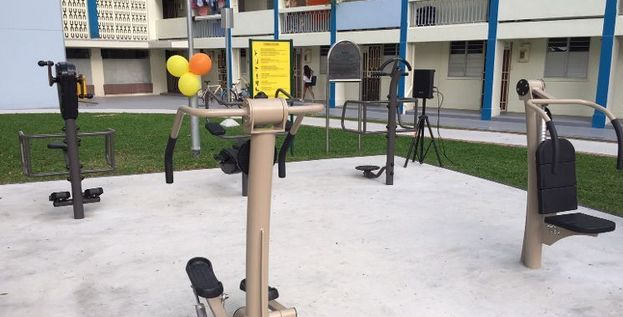 Senior Fitness Stations
