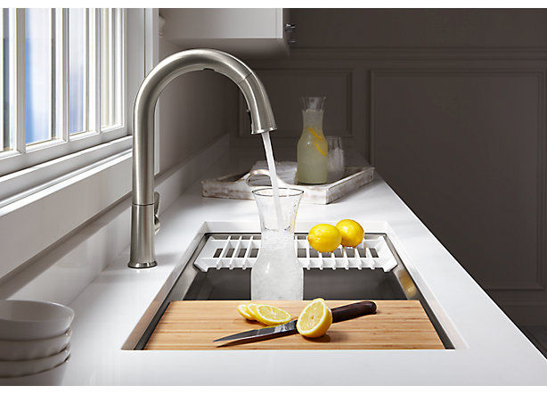 App-Connected Kitchen Faucets