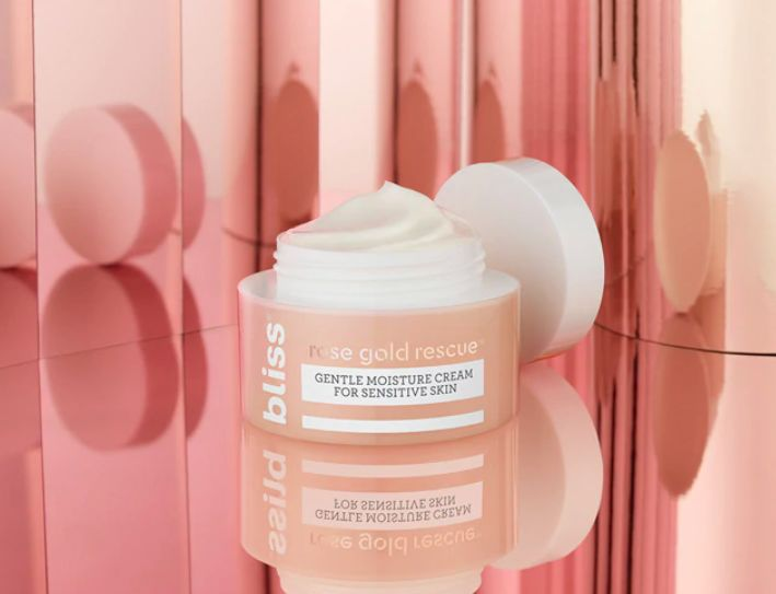 Sensitive Rose Gold Skincare