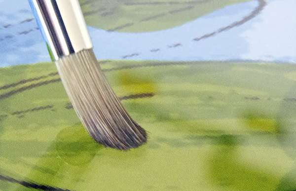 Realistic Digital Paintbrushes