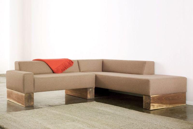 Rustic Wooden Beam Sofas