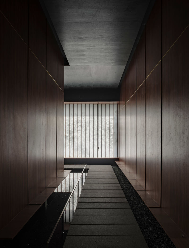 Serene Meditation Halls