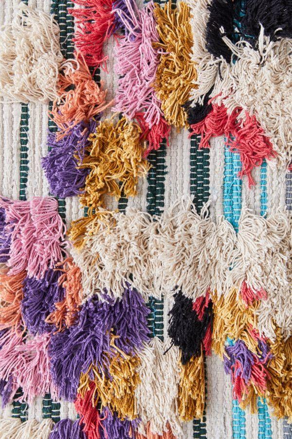 Dynamic Color-Block Carpets