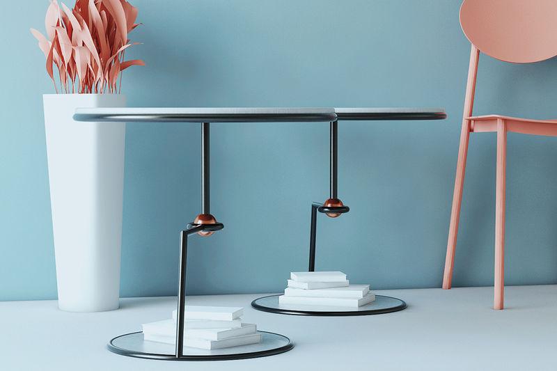 Legless Levitating Side Tables