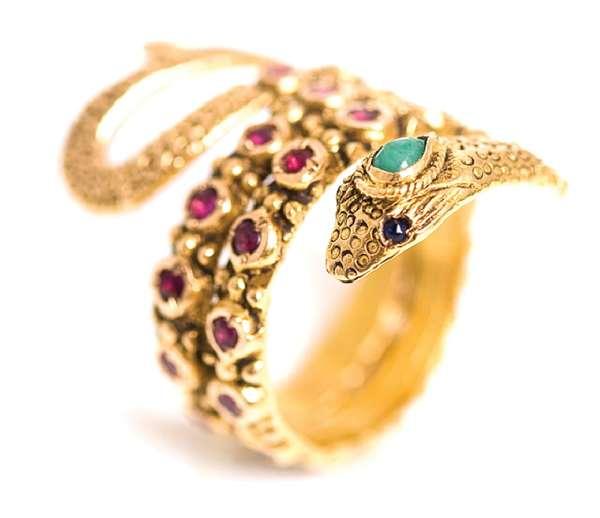 Seductive Serpent Jewelry