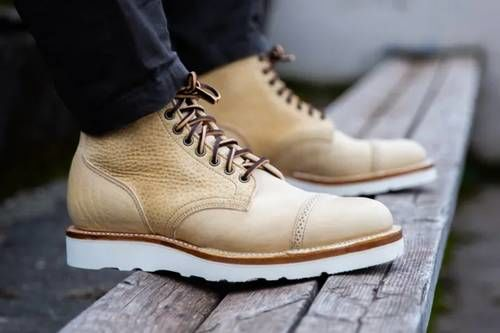 Rugged Neutral Vintage Boots