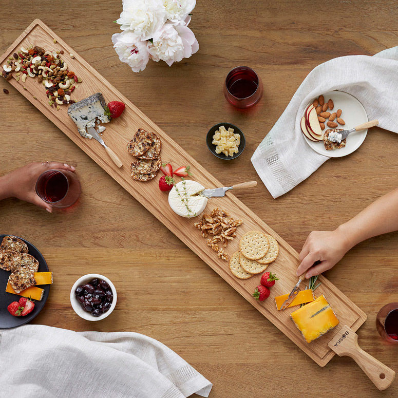 Oversized Timber Serving Platters
