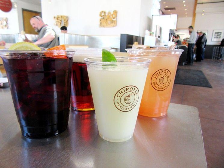 Fast Casual Cocktail Menus