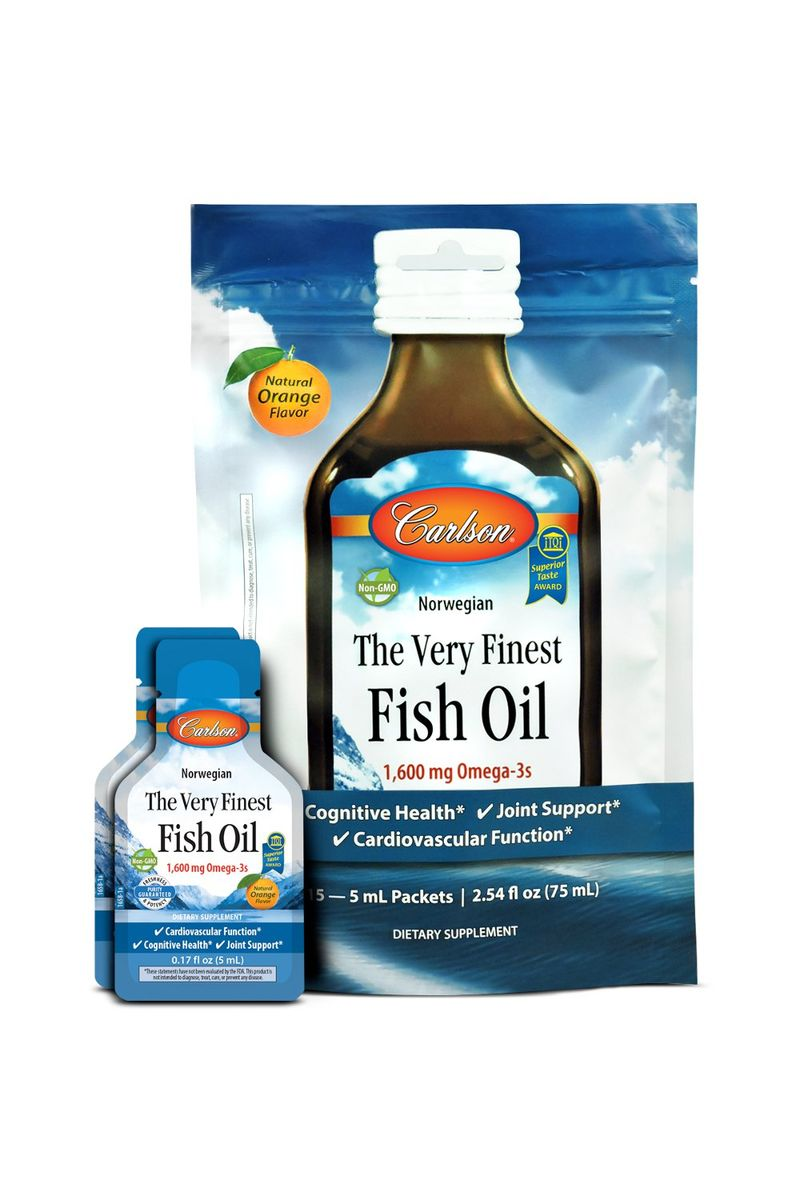 Single-Serve Fish Oil Packets