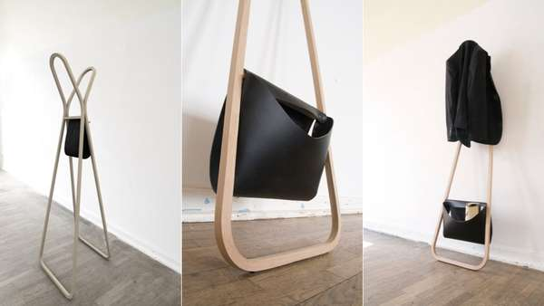Clean Minimalist Coat Racks