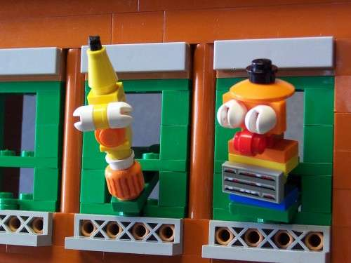 Cute Cartoon Building Blocks