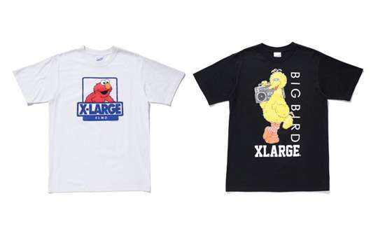 86c45b478f Marvelous Muppet Tees   Sesame Street x XLarge Collection