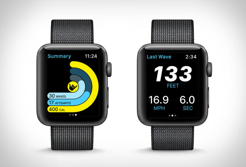 Smartwatch Surf-Tracking Apps