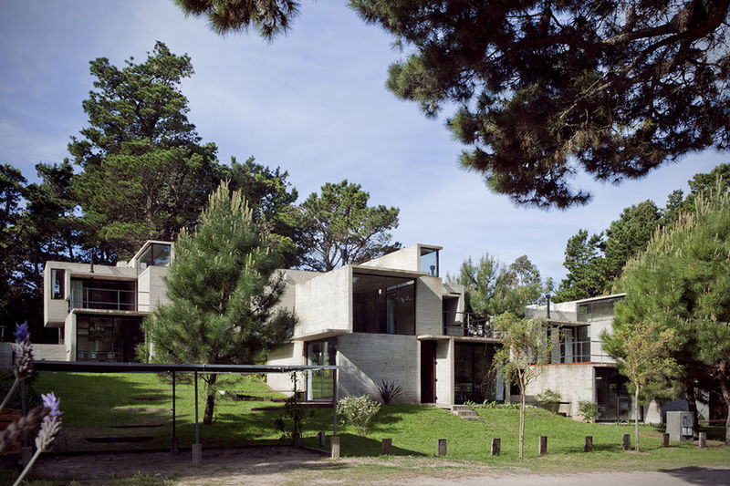 Composed Concrete Abodes