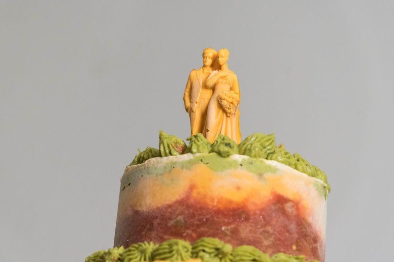 Seven-Layer Dip Wedding Cakes