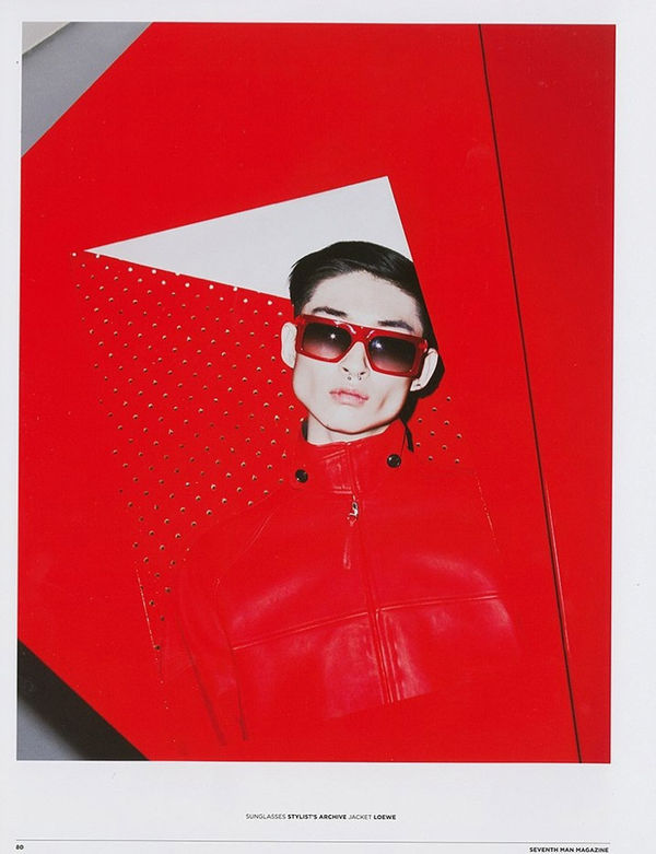 Modernist Color-Blocked Editorials