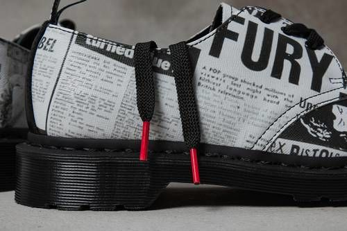 Punk-Informed Leather Footwear
