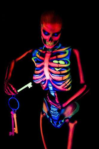 X-Ray Body Painting