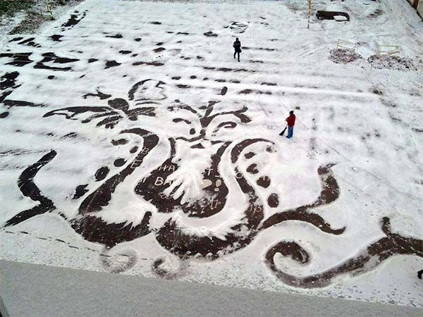Imaginative Snow Illustrations