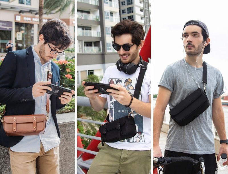 Fashion-Forward Gamer Satchels