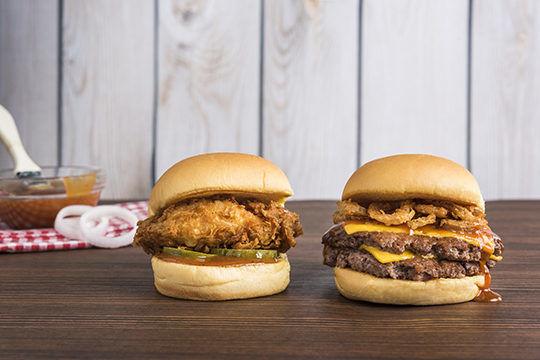 Premium BBQ Burgers