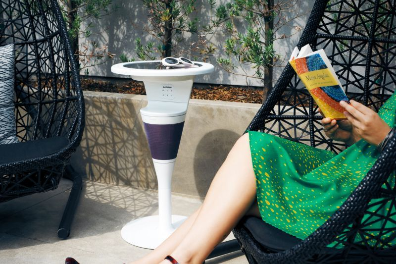 Solar-Powered Outdoor Tables