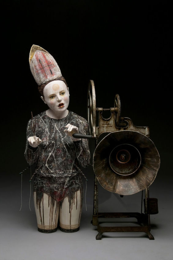 Creepy Theater-Inspired Sculptures