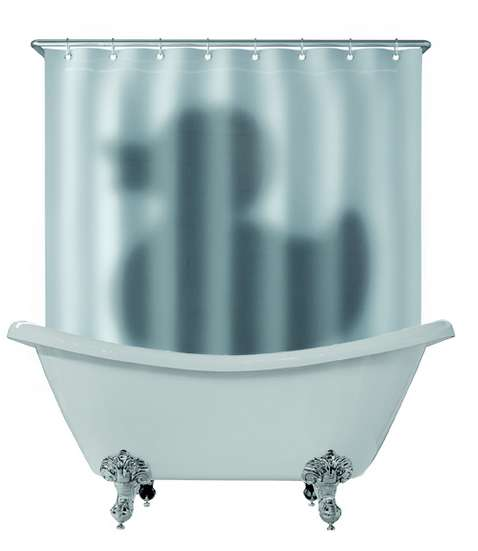 Deceiving Bathtub Drapes
