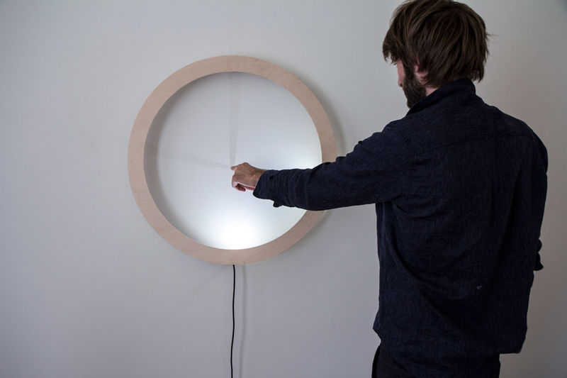 Interactive Shadow Clocks