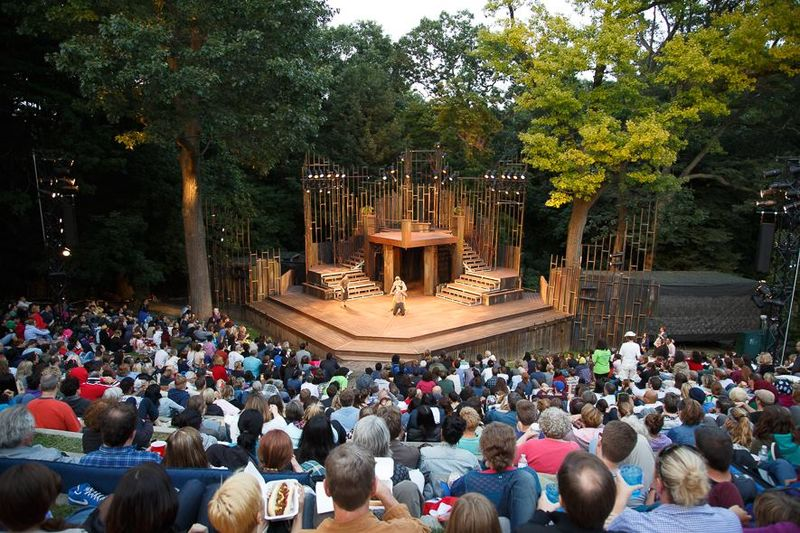Outdoor Shakespearean Productions