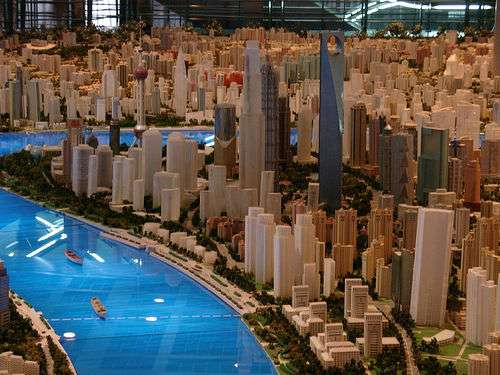 Shanghai in 2020: World's Largest to Scale Model