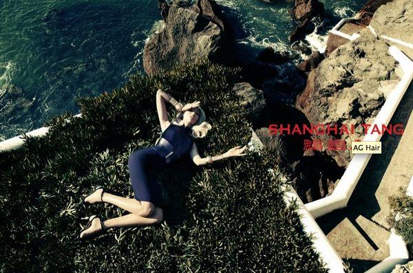 Glam Seaside Fashion Ads