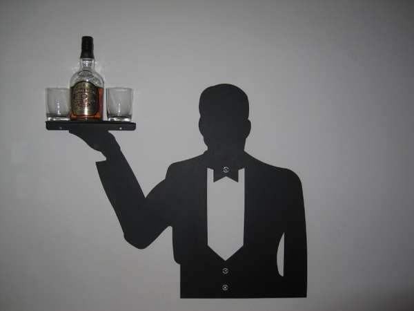 Wall-Mounted Waiters