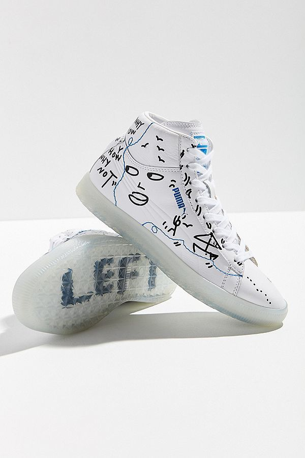 Doodle-Decorated Sneakers