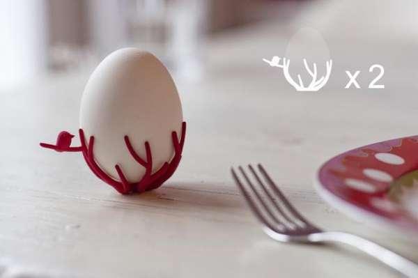 Bird Nest Egg Cups