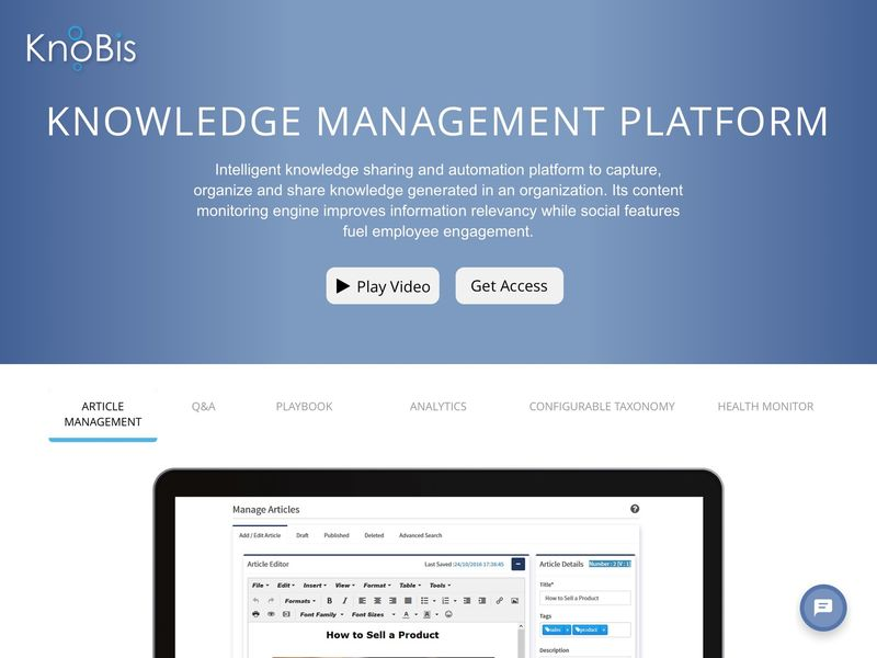 Organizational Knowledge-Sharing Platforms