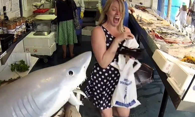 Shark Attack Pranks