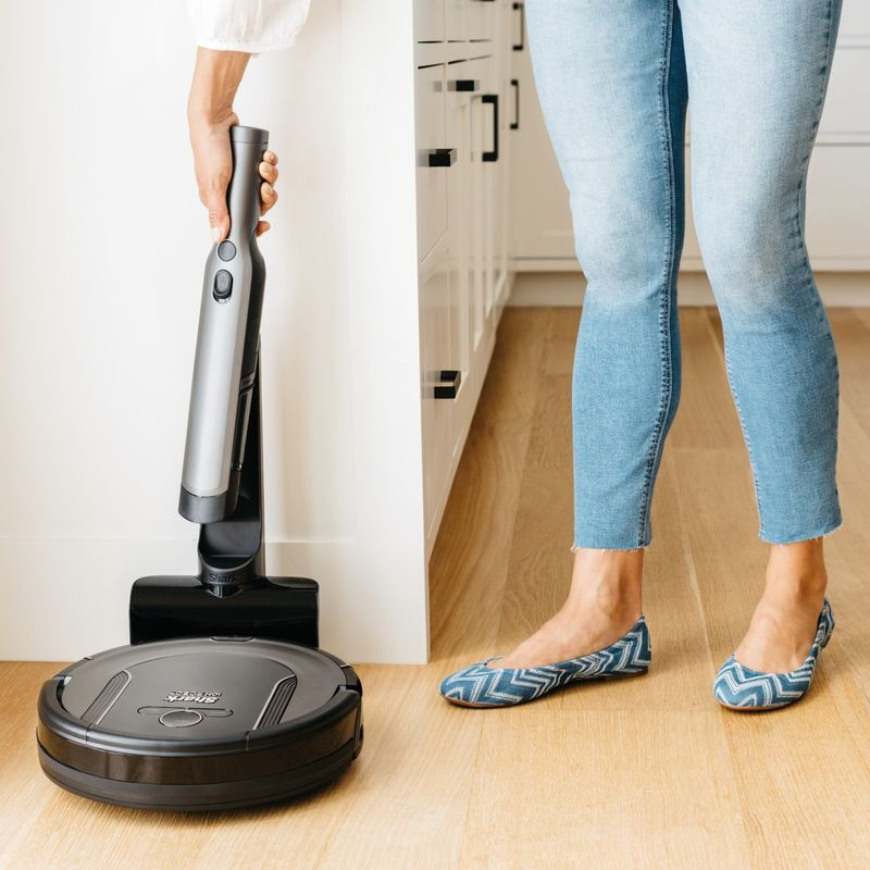 Two-in-One Robotic Vacuums