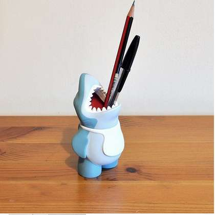 Ferocious Pencil Holders Shark Pencil Holder
