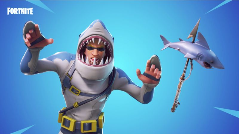 Shark-Inspired Gaming Skins