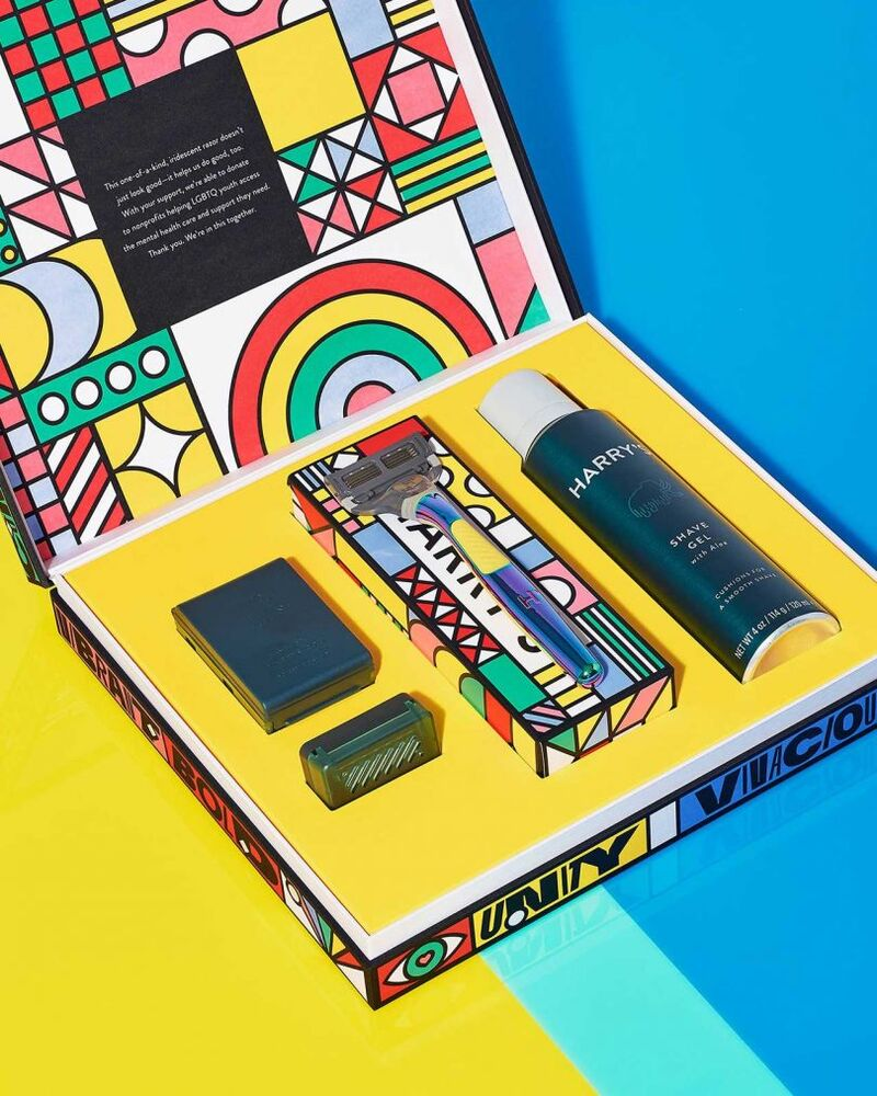 Limited-Edition Pride Shave Sets