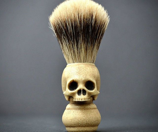 Skull Shaving Brushes