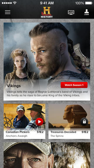 History Channel Streaming Apps