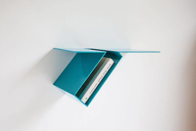 Surrealist Oblique Bookshelves